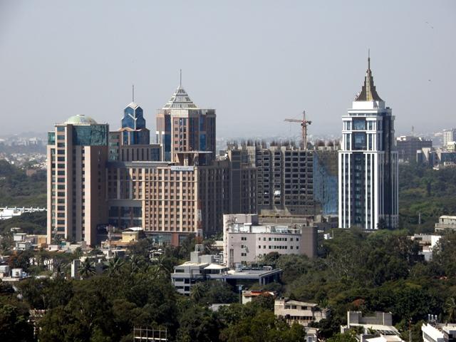 バンガロールの街並み