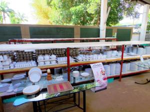 スリランカにあるノリタケのアウトレットショップ